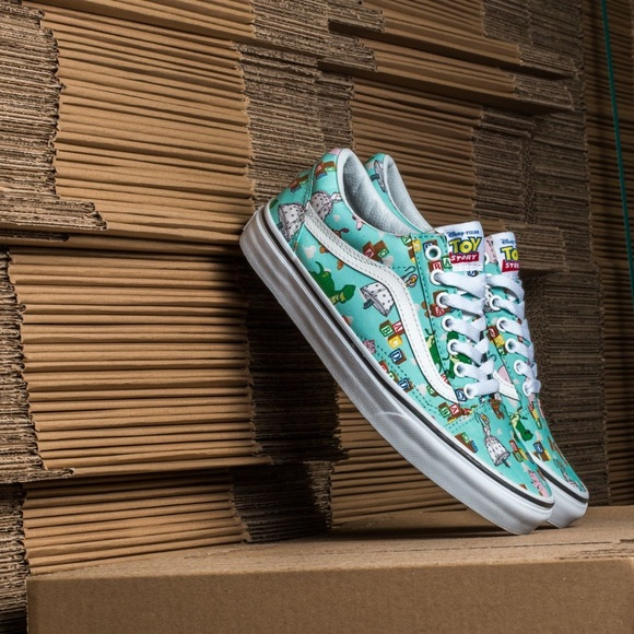 fac8361c63 Vans X Toy Story Andy s Toys Old Skool Sneakers